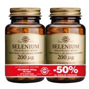 Solgar Selenium 200mcg 50 tablete PACHET 1+1-50%