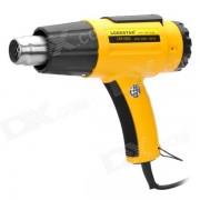 L501882 1600W pistola de aire caliente electrica de 2 modos - amarillo (CA 220V)