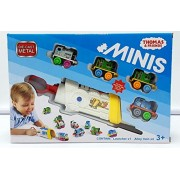 PLUSPOINT Thomas N Friends Mini Launcher with 4 Trains of Die Cast Metal Body