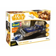 Revell Build & Play Star Wars Han's Speeder makett 6769