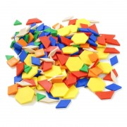 Forme geometrice diverse Miniland, 250 piese