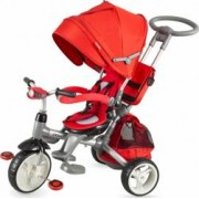 Tricicleta COCCOLLE Modi multifunctionala rosu