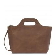 MYOMY Handtas Carry Handbag Bruin