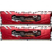 Memorie GSKill Flare X Red (for AMD) 16GB DDR4 2400 MHz CL15 1.2v Dual Channel Kit