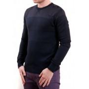 Тъмно син мъжки пуловер
