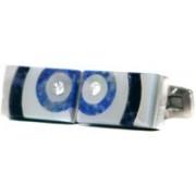 Blacksmithh Shell Cufflink(Blue)