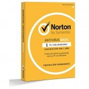 Symantec Norton Antivirus Basic 2018 1 Dispositivo 1 Ano