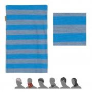 eșarfă Sensor TUBE MERINO LÂNĂ albastru dungi 16200181