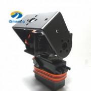 Generic No servo : Official iSmaring 2 DOF Robot arm Yuntai Platform Servo Bracket for Robotic Manipulator diy toy with optional high torque servo