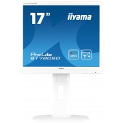 iiyama ProLite B1780SD-W1 17' LED LCD 1280x1024 Height adj Pivot Swivel Tilt speakers VGA DVI 250cd/m² 12M:1 ACR 5ms TCO6