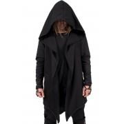 kapucnis pulóver női unisex - Black - AMENOMEN - DESIRE-011