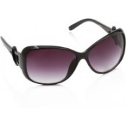 Rockford Over-sized Sunglasses(Violet)
