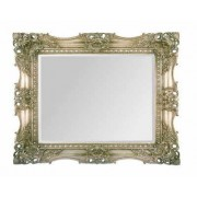 Empress 36X24 Ornate Silver Traditional Mirror.