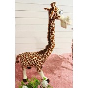 "Judy Dre am Stuffed Animals Giraffe Toys-Judy Dre am Soft Cartoon Brown Giraffes Kids Plush Dolls Cotton Stuffed Toy Children's Gift 27.5"" Tall"