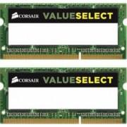 Memorie Laptop Corsair 2x4GB DDR3L ValueSelect 1600MHz