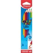 Creioane colorate Color Peps Star 6 culori/set Maped