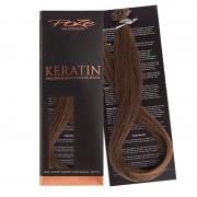 Poze Standard Keratin Extensions Cool Brown 7NV - 50cm