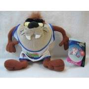 1996 Warner Bros. Family Entertainments McDonald's Warner Bros. Looney Tunes Tune Squad Space Jam TAZ Plush (Bigger Kids Meal Toy) by Warner Bros. Family Entertainments McDonald's Warn