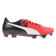 Puma voetbalschoenen Evopower 3.3 FG heren zwart/rood mt 46