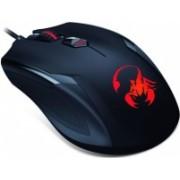 Mouse Gamer Genius Óptico AMMOX X1-400, Alámbrico, USB, 3200DPI, Negro/Rojo