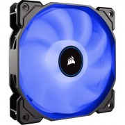 Ventilator PC Corsair AF140 LED Low Noise Cooling Fan, 1200 RPM, Single Pack - Blue