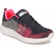 Pantofi Sport Femei SKECHERS BURST ELLIPSE Black Marimea 36