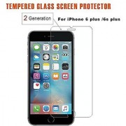 iPhone Glass screen protector 0.3mm thickness Tempered Glass [Second Generation ] Touching 99.9% Touch Accurate Perfect