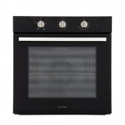 Indesit IFW6330BL Single Built In Electric Oven - Black