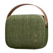 Vifa Enceinte Bluetooth Helsinki / Sans fil - Tissu & poignée cuir - Vifa vert saule en cuir