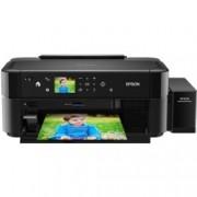 Мастиленоструен принтер Epson L810, цветен, 5760x1440 dpi, 37стр/мин, USB, A4