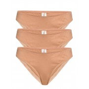 Underprotection Bea Briefs 3 Pack Trosa Brief Tanga Beige Underprotection
