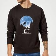 E.T. the Extra-Terrestrial Sudadera E.T. el extraterrestre Luna - Hombre - Negro - 4XL - Negro