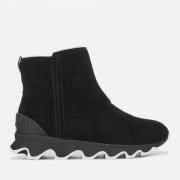 Sorel Women's Kinetic Short Boots - Black/Sea Salt - UK 7
