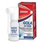 Iodosan Spa Gola Action 150 Mg/100 Ml + 500 Mg/100 Ml Spray Per Mucosa Orale 1 Flacone 10 Ml