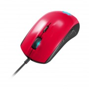 MOUSE STEELSERIES RIVAL 100 FORGED RED USB (PC-STEEL 62337)