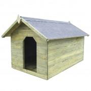 Sonata Градинска кучешка колиба, отваряем покрив, импрегниран FSC бор