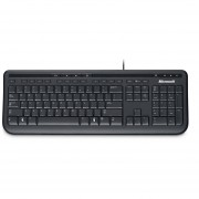 Teclado Microsoft Wired Keyboard 600, Usb, Negro
