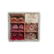 My Little Dream Girls Girl Shoes & Tiara Set 3 Pairs of Shoes & 2 Tiaras With Storage Case