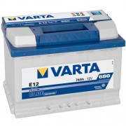 Varta Blue Dinamic 12V 74Ah 680A 574013 autó akkumulátor bal+ (+AJÁNDÉK!)