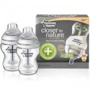 Комплект шишета за хранене Anti-Colic Plus 260 мл. Tommee Tippee, 262056