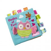 Dwayne C Fabric Cloth Books Owl Pattern Soft Books Baby's First Book Early Educational Toys for Toddler and Kids