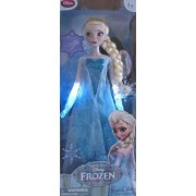 "Frozen Motion Activated Singing & Light Up Elsa Doll 16"" Doll Sings ""Let It Go"" Disney Store Exclusive (2013)"