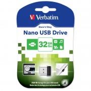 Pen USB Verbatim Store 'n' Stay Nano - 32GB