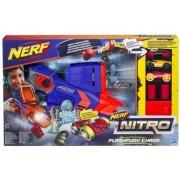 Hasbro Na samochodziki Nerf Nitro - Wyrzutnia Flashfury Chaos + 3 samochody C0788