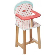 Indigo Jamm Wood Doll Hearts High Chair Kij10025