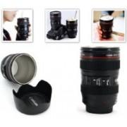 SKYFISH Lens coffee mug Plastic Mug 10 Cups Coffee Maker(Black)