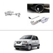 AutoStark Turbo Sound Whistle Exhaust Pipe Blowoff Valve Simulator For Hyundai Santro Xing