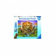 PUZZLE CARTEA DINOZAURILOR, 300 PIESE - RAVENSBURGER (RVSPC12905)