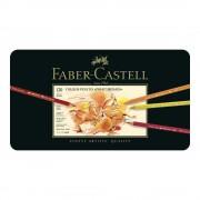 Creioane colorate Polychromos FABER-CASTELL, 120 culori/cutie, FC110011