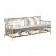 Sika-Design Caroline 3-sits vit soffa exterior, sika-design